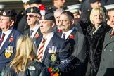 Remembrance Sunday at the Cenotaph in London 2014: Group F15 - National Gulf Veterans & Families Association. Press stand opposite the Foreign Office building, Whitehall, London SW1, London, Greater London, United Kingdom, on 09 November 2014 at 11:58, image #1036