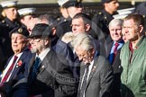 Remembrance Sunday at the Cenotaph in London 2014: Group F15 - National Gulf Veterans & Families Association. Press stand opposite the Foreign Office building, Whitehall, London SW1, London, Greater London, United Kingdom, on 09 November 2014 at 11:58, image #1043