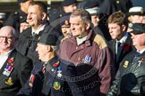 Remembrance Sunday at the Cenotaph in London 2014: Group F15 - National Gulf Veterans & Families Association. Press stand opposite the Foreign Office building, Whitehall, London SW1, London, Greater London, United Kingdom, on 09 November 2014 at 11:58, image #1047