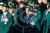 Remembrance Sunday at the Cenotaph in London 2014: Group A4 - Royal Irish Regiment Association.. Press stand opposite the Foreign Office building, Whitehall, London SW1, London, Greater London, United Kingdom, on 09 November 2014 at 12:00, image #1135