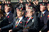 Remembrance Sunday at the Cenotaph in London 2014: Group A11 - Royal Scots Regimental Association. Press stand opposite the Foreign Office building, Whitehall, London SW1, London, Greater London, United Kingdom, on 09 November 2014 at 12:02, image #1247