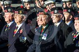 Remembrance Sunday at the Cenotaph in London 2014: Group A11 - Royal Scots Regimental Association. Press stand opposite the Foreign Office building, Whitehall, London SW1, London, Greater London, United Kingdom, on 09 November 2014 at 12:02, image #1249