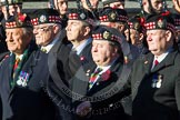 Remembrance Sunday at the Cenotaph in London 2014: Group A11 - Royal Scots Regimental Association. Press stand opposite the Foreign Office building, Whitehall, London SW1, London, Greater London, United Kingdom, on 09 November 2014 at 12:02, image #1250