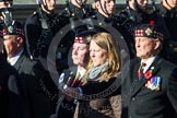 Remembrance Sunday at the Cenotaph in London 2014: Group A11 - Royal Scots Regimental Association. Press stand opposite the Foreign Office building, Whitehall, London SW1, London, Greater London, United Kingdom, on 09 November 2014 at 12:02, image #1251