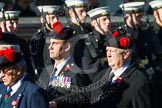 Remembrance Sunday at the Cenotaph in London 2014: Group A13 - Black Watch Association. Press stand opposite the Foreign Office building, Whitehall, London SW1, London, Greater London, United Kingdom, on 09 November 2014 at 12:02, image #1277