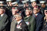 Remembrance Sunday at the Cenotaph in London 2014: Group A14 - Gordon Highlanders Association. Press stand opposite the Foreign Office building, Whitehall, London SW1, London, Greater London, United Kingdom, on 09 November 2014 at 12:03, image #1279