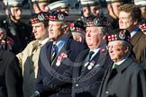 Remembrance Sunday at the Cenotaph in London 2014: Group A14 - Gordon Highlanders Association. Press stand opposite the Foreign Office building, Whitehall, London SW1, London, Greater London, United Kingdom, on 09 November 2014 at 12:03, image #1284