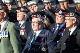 Remembrance Sunday at the Cenotaph in London 2014: Group A14 - Gordon Highlanders Association. Press stand opposite the Foreign Office building, Whitehall, London SW1, London, Greater London, United Kingdom, on 09 November 2014 at 12:03, image #1289