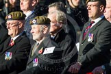 Remembrance Sunday at the Cenotaph in London 2014: Group A19 - Scots Guards Association. Press stand opposite the Foreign Office building, Whitehall, London SW1, London, Greater London, United Kingdom, on 09 November 2014 at 12:03, image #1326