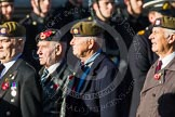 Remembrance Sunday at the Cenotaph in London 2014: Group A19 - Scots Guards Association. Press stand opposite the Foreign Office building, Whitehall, London SW1, London, Greater London, United Kingdom, on 09 November 2014 at 12:03, image #1332
