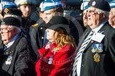 Remembrance Sunday at the Cenotaph in London 2014: Group A22 - Princess of Wales's Royal Regiment. Press stand opposite the Foreign Office building, Whitehall, London SW1, London, Greater London, United Kingdom, on 09 November 2014 at 12:04, image #1351