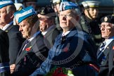 Remembrance Sunday at the Cenotaph in London 2014: Group A22 - Princess of Wales's Royal Regiment. Press stand opposite the Foreign Office building, Whitehall, London SW1, London, Greater London, United Kingdom, on 09 November 2014 at 12:04, image #1353