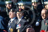 Remembrance Sunday at the Cenotaph in London 2014: Group A22 - Princess of Wales's Royal Regiment. Press stand opposite the Foreign Office building, Whitehall, London SW1, London, Greater London, United Kingdom, on 09 November 2014 at 12:04, image #1354