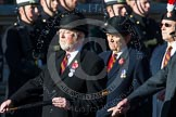 Remembrance Sunday at the Cenotaph in London 2014: Group A26 - Royal Hampshire Regiment Comrades Association. Press stand opposite the Foreign Office building, Whitehall, London SW1, London, Greater London, United Kingdom, on 09 November 2014 at 12:04, image #1380