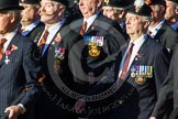 Remembrance Sunday at the Cenotaph in London 2014: Group A26 - Royal Hampshire Regiment Comrades Association. Press stand opposite the Foreign Office building, Whitehall, London SW1, London, Greater London, United Kingdom, on 09 November 2014 at 12:04, image #1383