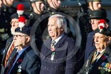 Remembrance Sunday at the Cenotaph in London 2014: Group A27 - Royal Northumberland Fusiliers. Press stand opposite the Foreign Office building, Whitehall, London SW1, London, Greater London, United Kingdom, on 09 November 2014 at 12:05, image #1391