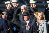 Remembrance Sunday at the Cenotaph in London 2014: Group A28 - Royal Sussex Regimental Association. Press stand opposite the Foreign Office building, Whitehall, London SW1, London, Greater London, United Kingdom, on 09 November 2014 at 12:05, image #1393