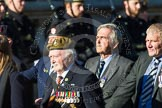 Remembrance Sunday at the Cenotaph in London 2014: Group A28 - Royal Sussex Regimental Association. Press stand opposite the Foreign Office building, Whitehall, London SW1, London, Greater London, United Kingdom, on 09 November 2014 at 12:05, image #1399
