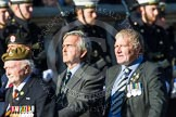 Remembrance Sunday at the Cenotaph in London 2014: Group A28 - Royal Sussex Regimental Association. Press stand opposite the Foreign Office building, Whitehall, London SW1, London, Greater London, United Kingdom, on 09 November 2014 at 12:05, image #1400