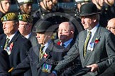 Remembrance Sunday at the Cenotaph in London 2014: Group A29 - Green Howards Association. Press stand opposite the Foreign Office building, Whitehall, London SW1, London, Greater London, United Kingdom, on 09 November 2014 at 12:05, image #1404