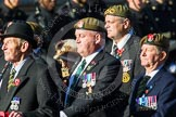 Remembrance Sunday at the Cenotaph in London 2014: Group A29 - Green Howards Association. Press stand opposite the Foreign Office building, Whitehall, London SW1, London, Greater London, United Kingdom, on 09 November 2014 at 12:05, image #1409