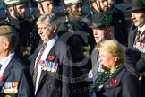 Remembrance Sunday at the Cenotaph in London 2014: Group A30 - Cheshire Regiment Association. Press stand opposite the Foreign Office building, Whitehall, London SW1, London, Greater London, United Kingdom, on 09 November 2014 at 12:05, image #1414