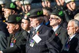Remembrance Sunday at the Cenotaph in London 2014: Group A30 - Cheshire Regiment Association. Press stand opposite the Foreign Office building, Whitehall, London SW1, London, Greater London, United Kingdom, on 09 November 2014 at 12:05, image #1419