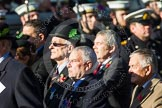 Remembrance Sunday at the Cenotaph in London 2014: Group A30 - Cheshire Regiment Association. Press stand opposite the Foreign Office building, Whitehall, London SW1, London, Greater London, United Kingdom, on 09 November 2014 at 12:05, image #1420