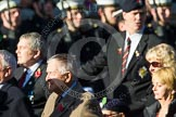 Remembrance Sunday at the Cenotaph in London 2014: Group A30 - Cheshire Regiment Association. Press stand opposite the Foreign Office building, Whitehall, London SW1, London, Greater London, United Kingdom, on 09 November 2014 at 12:05, image #1421