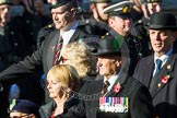 Remembrance Sunday at the Cenotaph in London 2014: Group A31 - Sherwood Foresters & Worcestershire Regiment. Press stand opposite the Foreign Office building, Whitehall, London SW1, London, Greater London, United Kingdom, on 09 November 2014 at 12:05, image #1422