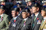 Remembrance Sunday at the Cenotaph in London 2014: Group A35 - Queen's Own Highlanders Regimental Association. Press stand opposite the Foreign Office building, Whitehall, London SW1, London, Greater London, United Kingdom, on 09 November 2014 at 12:06, image #1452