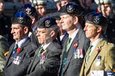 Remembrance Sunday at the Cenotaph in London 2014: Group A35 - Queen's Own Highlanders Regimental Association. Press stand opposite the Foreign Office building, Whitehall, London SW1, London, Greater London, United Kingdom, on 09 November 2014 at 12:06, image #1453