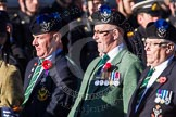 Remembrance Sunday at the Cenotaph in London 2014: Group A35 - Queen's Own Highlanders Regimental Association. Press stand opposite the Foreign Office building, Whitehall, London SW1, London, Greater London, United Kingdom, on 09 November 2014 at 12:06, image #1455