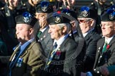 Remembrance Sunday at the Cenotaph in London 2014: Group A35 - Queen's Own Highlanders Regimental Association. Press stand opposite the Foreign Office building, Whitehall, London SW1, London, Greater London, United Kingdom, on 09 November 2014 at 12:06, image #1457