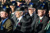 Remembrance Sunday at the Cenotaph in London 2014: Group A35 - Queen's Own Highlanders Regimental Association. Press stand opposite the Foreign Office building, Whitehall, London SW1, London, Greater London, United Kingdom, on 09 November 2014 at 12:06, image #1458