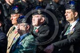 Remembrance Sunday at the Cenotaph in London 2014: Group A35 - Queen's Own Highlanders Regimental Association. Press stand opposite the Foreign Office building, Whitehall, London SW1, London, Greater London, United Kingdom, on 09 November 2014 at 12:06, image #1464