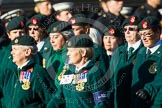 Remembrance Sunday at the Cenotaph in London 2014: Group B2 - Women's Royal Army Corps Association. Press stand opposite the Foreign Office building, Whitehall, London SW1, London, Greater London, United Kingdom, on 09 November 2014 at 12:06, image #1499