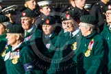 Remembrance Sunday at the Cenotaph in London 2014: Group B2 - Women's Royal Army Corps Association. Press stand opposite the Foreign Office building, Whitehall, London SW1, London, Greater London, United Kingdom, on 09 November 2014 at 12:06, image #1500