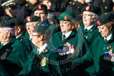 Remembrance Sunday at the Cenotaph in London 2014: Group B2 - Women's Royal Army Corps Association. Press stand opposite the Foreign Office building, Whitehall, London SW1, London, Greater London, United Kingdom, on 09 November 2014 at 12:06, image #1506