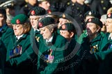 Remembrance Sunday at the Cenotaph in London 2014: Group B2 - Women's Royal Army Corps Association. Press stand opposite the Foreign Office building, Whitehall, London SW1, London, Greater London, United Kingdom, on 09 November 2014 at 12:06, image #1507