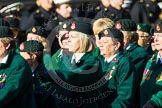 Remembrance Sunday at the Cenotaph in London 2014: Group B2 - Women's Royal Army Corps Association. Press stand opposite the Foreign Office building, Whitehall, London SW1, London, Greater London, United Kingdom, on 09 November 2014 at 12:06, image #1508