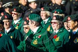 Remembrance Sunday at the Cenotaph in London 2014: Group B2 - Women's Royal Army Corps Association. Press stand opposite the Foreign Office building, Whitehall, London SW1, London, Greater London, United Kingdom, on 09 November 2014 at 12:07, image #1514