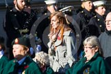 Remembrance Sunday at the Cenotaph in London 2014: Group B2 - Women's Royal Army Corps Association. Press stand opposite the Foreign Office building, Whitehall, London SW1, London, Greater London, United Kingdom, on 09 November 2014 at 12:07, image #1520