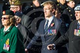 Remembrance Sunday at the Cenotaph in London 2014: Group B3 - 656 Squadron Association. Press stand opposite the Foreign Office building, Whitehall, London SW1, London, Greater London, United Kingdom, on 09 November 2014 at 12:07, image #1524