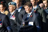 Remembrance Sunday at the Cenotaph in London 2014: Group B3 - 656 Squadron Association. Press stand opposite the Foreign Office building, Whitehall, London SW1, London, Greater London, United Kingdom, on 09 November 2014 at 12:07, image #1528