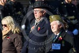 Remembrance Sunday at the Cenotaph in London 2014: Group B4 - Home Guard Association. Press stand opposite the Foreign Office building, Whitehall, London SW1, London, Greater London, United Kingdom, on 09 November 2014 at 12:07, image #1531