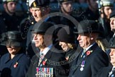 Remembrance Sunday at the Cenotaph in London 2014: Group B6 - 3rd Regiment Royal Horse Artillery Association. Press stand opposite the Foreign Office building, Whitehall, London SW1, London, Greater London, United Kingdom, on 09 November 2014 at 12:07, image #1542
