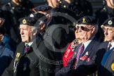Remembrance Sunday at the Cenotaph in London 2014: Group B8 - Royal Engineers Association. Press stand opposite the Foreign Office building, Whitehall, London SW1, London, Greater London, United Kingdom, on 09 November 2014 at 12:07, image #1562