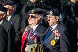 Remembrance Sunday at the Cenotaph in London 2014: Group B8 - Royal Engineers Association. Press stand opposite the Foreign Office building, Whitehall, London SW1, London, Greater London, United Kingdom, on 09 November 2014 at 12:07, image #1563
