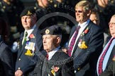 Remembrance Sunday at the Cenotaph in London 2014: Group B8 - Royal Engineers Association. Press stand opposite the Foreign Office building, Whitehall, London SW1, London, Greater London, United Kingdom, on 09 November 2014 at 12:08, image #1565